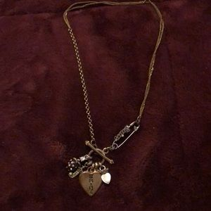 Gold Juicy Couture Necklace